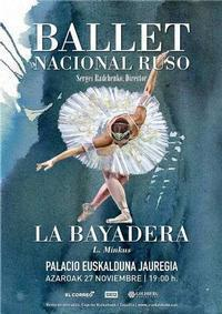 La Bayadera in Spain