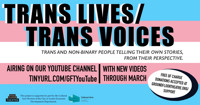 Trans Lives/Trans Voices in Austin