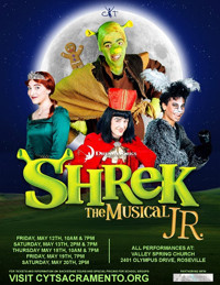 CYT Sacramento Presents Shrek The Musical JR in Broadway