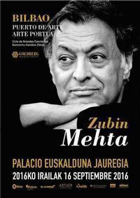 Zubin Mehta Concert (Bilbao Port of Art) in Spain