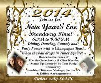 2014 NEW YEAR'S EVE BROADWAY TIME in Costa Mesa