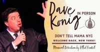 Dave Konig - In Person in Off-Off-Broadway