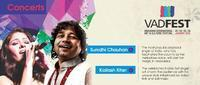 Sunidhi Chauhan and Kailash Kher Performing at VADFEST in India