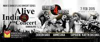 Alive India with United for Music - Anwesha, Supratik & Others in India