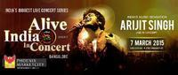 Alive India with Arijit Singh in India