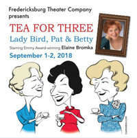 Tea for Three: Lady Bird, Pat, and Betty in San Antonio
