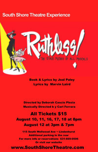 Ruthless the Musical in Rockland / Westchester