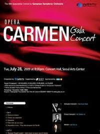 CARMEN gala concert in Italy