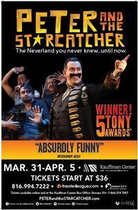PETER AND THE STARCATCHER in Kansas City
