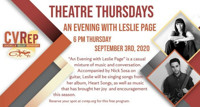 An Evening With Leslie Page in Sacramento