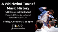 A Whirlwind Tour of Music History with Russell Ger in Rockland / Westchester