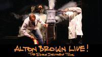 ALTON BROWN LIVE! The Edible Inevitable Tour in Salt Lake City