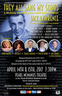 They All Sang My Songs - A Musical Tribute to American Songbook Composer Jack Lawrence in Los Angeles