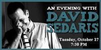 An Evening with David Sedaris in South Bend