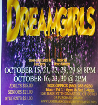 DREAMGIRLS in Connecticut