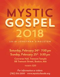 Mystic Chorale Sings Gospel! in Boston