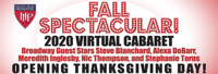 Fall Spectacular, A Virtual Cabaret in South Carolina