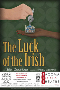 THE LUCK OF THE IRISH at Tacoma Little Theatre in Seattle