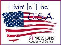 Expressions Academy of Dance Livin' In the USA in St. Petersburg