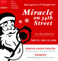 Miracle on 34th Street: A Live Musical Radio Play in San Diego