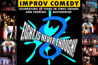 EIGHT IS NEVER ENOUGH Improv Holiday Schedule in Off-Off-Broadway