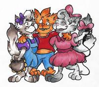 Three Little Kittens in Broadway