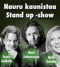 The laughter of grace – Stand up show in Finland