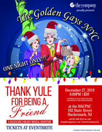 Thank Yule For Being A Friend in New Jersey