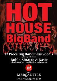 Hot House Big Band in Ireland