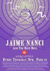 Jaime Nanci and the Blue Boys in Ireland