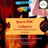 Queer POC Cabaret in Off-Off-Broadway