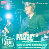 San Diego Musical Theatre Summer Concert Series - BRITAIN'S FINEST in San Diego Logo