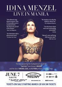 Idina Menzel Live In Manila in Philippines