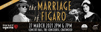 POCKET-SIZE OPERA THE MARRIAGE OF FIGARO  in Australia - Sydney