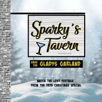 Gladys Garland at Sparky's Tavern Christmas Eve 1975 in Washington, DC