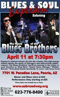 Blues & Soul Explosion: Saluting The Music of The Blues Brothers in Phoenix