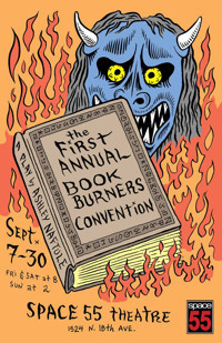 THE FIRST ANNUAL BOOKBURNERS CONVENTION by Ashley Naftule in Broadway