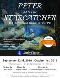 Peter and the Starcatcher in Charlotte