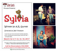 Sylvia- A Romantic Comedy Playing 3/3/17 through 3/18/17 in Boise