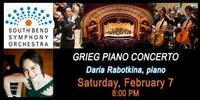 South Bend Symphony Orchestra Masterworks II - Grieg Piano Concerto in South Bend