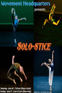 Solo-stice in Off-Off-Broadway Logo