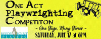 One Act Playwrighting Competition: One Stage Many Stories in Broadway