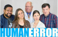HUMAN ERROR by Eric Pfeffinger in Broadway