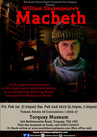 William Shakespeare's Macbeth in UK Regional