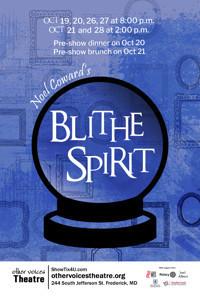 Blithe Spirit in Baltimore