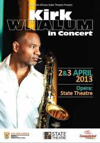 Kirk Whalum in South Africa