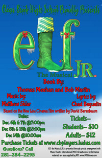 Elf Jr The Musical in Houston