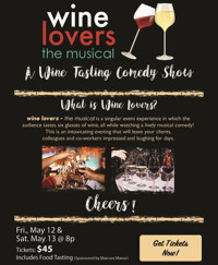 Wine Lovers the Musical at The Onyx Theatre in Long Island