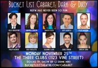 Bucket List Cabaret: Dark & Dirty in Los Angeles
