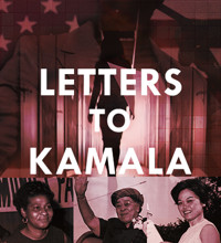 Letters to Kamala in Tampa Logo